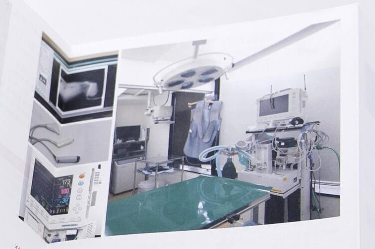 ポイント2:診療用機器やアメニティの掲載を検討する
