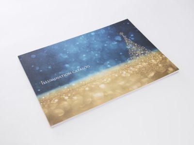 写真合成と用紙にこだわったイルミネーションの製品カタログ