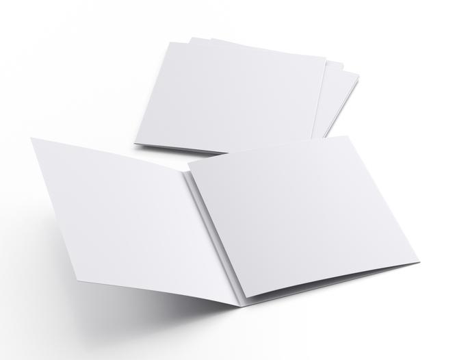 巻三つ折りパンフレット